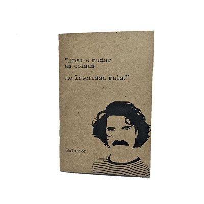 Caderno Artesanal Capa Kraft Belchior