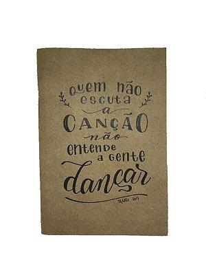 Caderno Artesanal Capa Thiago Iorc