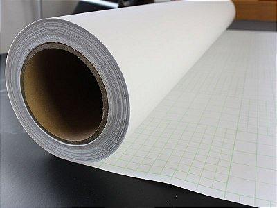Vinil Adesivo p/ Laminação Transparente Fosco 1,52m x50m (UCL08M/100)