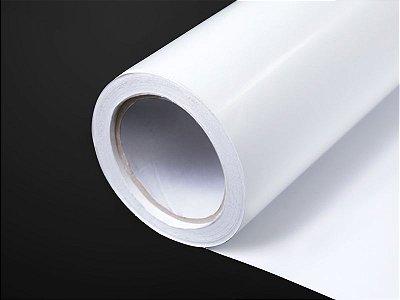 Vinil Adesivo Branco Brilhante 1,27m x 50m (SAV 10B/120)