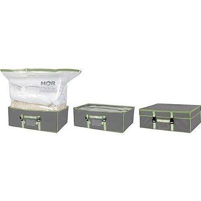 Caixa Com Organizador A Vacuo - 90cm X 38cm X 80cm- Mor 6129
