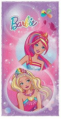 Toalha de banho  Barbie Reino do arco iris 0,60 X 1,20