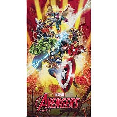 Toalha De Banho Lepper Kids Os Vingadores Avengers 0,75 x 1,40