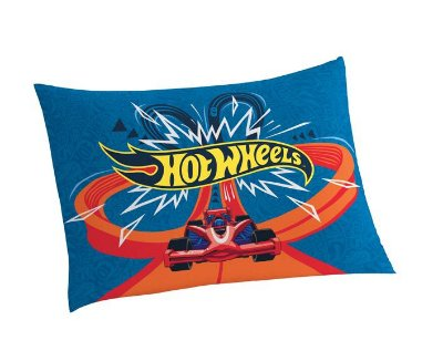 Fronha Avulsa Estampada Hot Wheels 50 cm x 70 cm Com