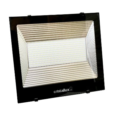 REFLETOR LED SMD MICROLED ALTA POTÊNCIA 200W - CRISTALLUX - LUZ BRANCO NATURAL 5000K