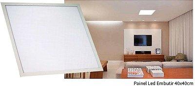 Luminária Painel Slim Embutir 36W LED QUADRADO 40x40 Bivolt CRISTALLUX