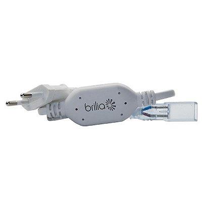 Kit Plug Conexão Fitas LED de Alta Tensão BRILIA 14,4W/m 432211 - Para fita tensão de rede BRILIA 14,4 watts por metro
