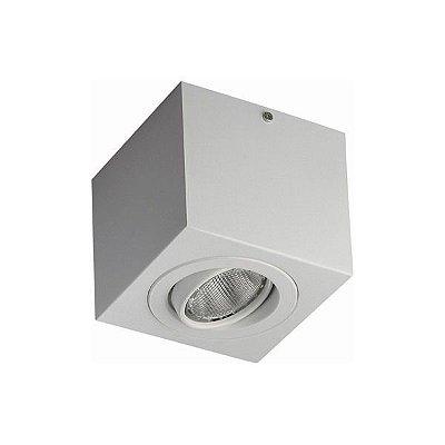 Spot sobrepor para lâmpada par20 branco  - lâmpada vendida separadamente