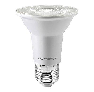 LÂMPADA PAR20 CLEAR SAVE ENERGY - 7W - USO INTERNO - 2700K BRANCO QUENTE