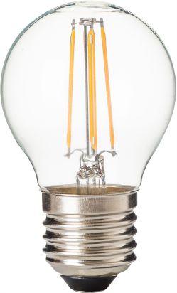 Lâmpada Bolinha Led Filamento G45 E27 4W - 2700k Branco Quente - Cristallux - Inmetro