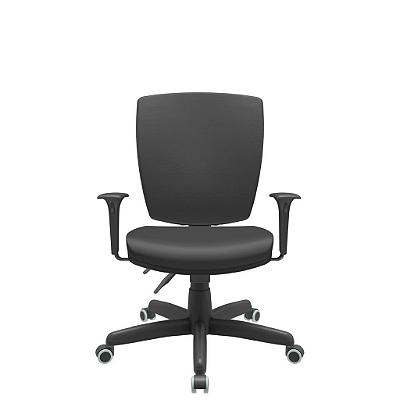 Cadeira Giratoria Diretor Altrix Back Plax Rev.Couro Ecológico - Plaxmetal