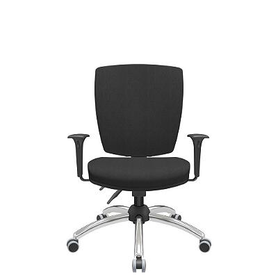 Cadeira Giratoria Diretor Altrix Relax Base Cromada Rev. Poliéster - Plaxmetal