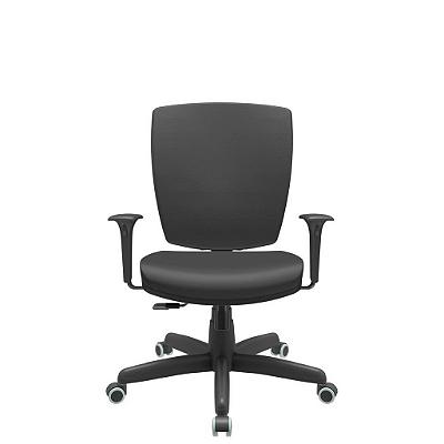 Cadeira Giratoria Diretor Altrix Relax Rev. Couro Ecológico - Plaxmetal