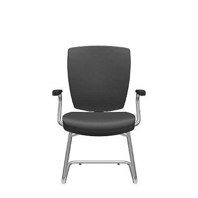 Cadeira Fixa Base S Altrix Couro Ecológico - Plaxmetal