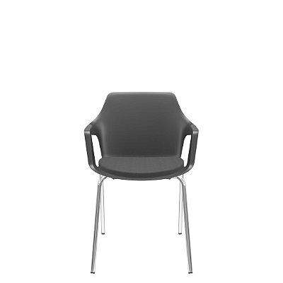 Cadeira Vesper Diálogo com Revestimento – Plaxmetal