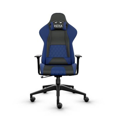 Cadeira Gmaer Hexa Gaming Chair Azul/Preto Frisokar