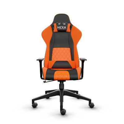 Cadeira Gmaer Hexa Gaming Chair Laranja/Preto Frisokar