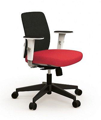 Cadeira para Escritório Operacional/Secretária Cavaletti Idea Mesh 40202