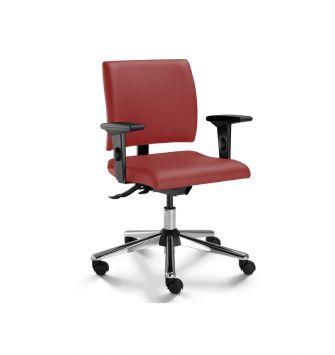 Cadeira para Escritório Operacional/Secretária Cavaletti Slim 18004