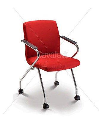 Cadeira para Escritório Aproximação/Fixa Cavaletti Slim 18006ZR