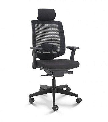 Cadeira para Escritório Presidente Cavaletti C3 28001C