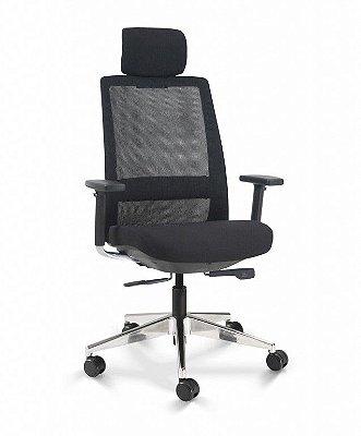 Cadeira para Escritório Presidente Cavaletti C4 29001AC