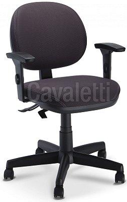 Cadeira Giratória Executiva Cavaletti Linha Start 4064 SRE Back System Com Braços