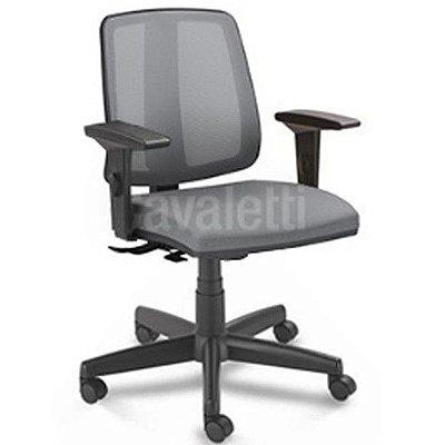 Cadeira Giratória para Escritório Flip Executiva 43103 SRE Braços SL - Base Polâina - Cavaletti