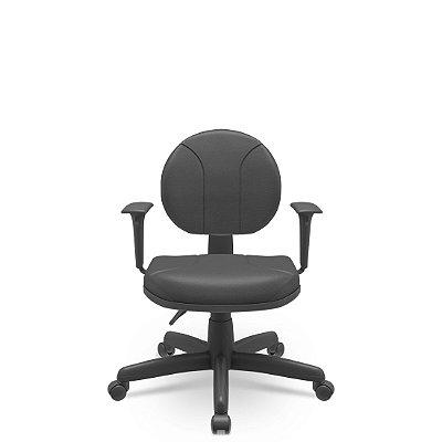 Cadeira Executiva Operativa Certificada Backplax Plaxmetal