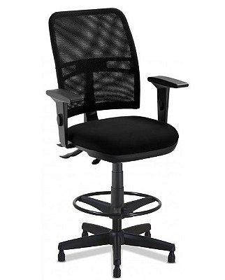 Cadeira Caixa  Executiva  NewNet 16123 Base Polaina - SRE Cavaletti