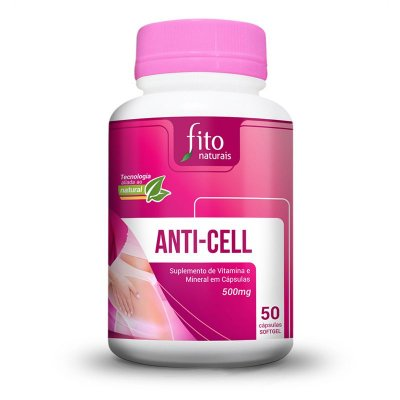 Anti-cell - 50 Cáps. - 500mg - Fito