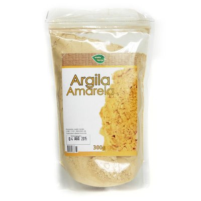 Argila Amarela - 300g - MatoVerde