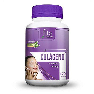 Colágeno - 120 Cáps. - 500mg - Fito