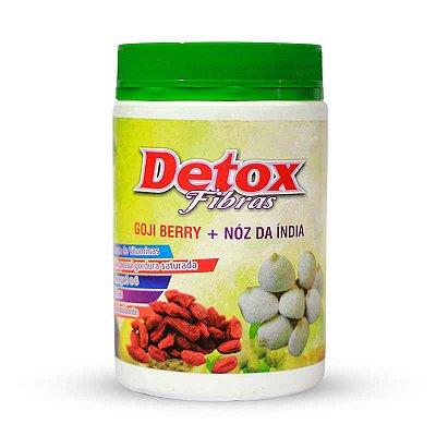 Detox Fibras - Goji Berry + Noz da Índia - 400g - Naturemed