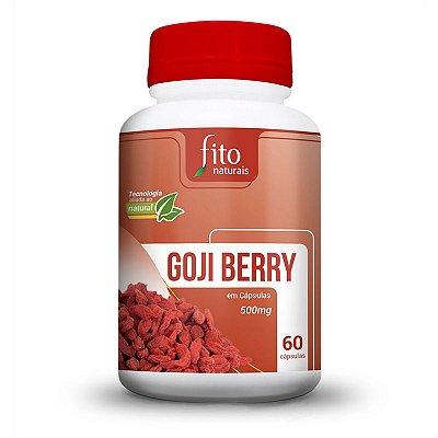 Goji Berry - 60 Cáps. - 500mg - Fito