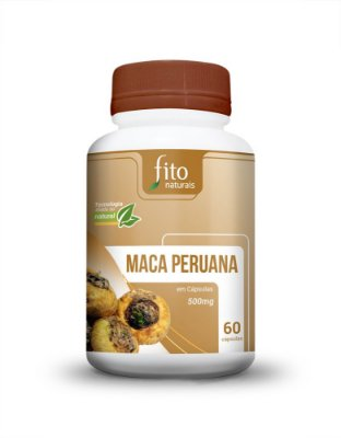 Maca Peruana - 60 Cáps. - 500mg - Fito