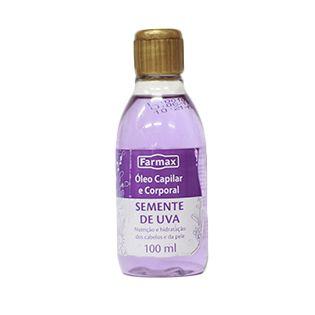 Óleo Capilar  e Corporal - Semente de Uva - 100ml - Farmax
