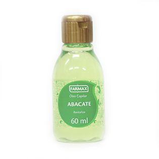 Óleo Capilar - Abacate - 60ml - Farmax