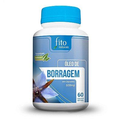 Óleo de Borragem - 60 Cáps. - 500mg - Fito