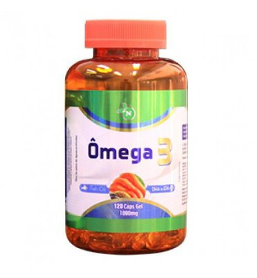 Ômega 3 - 120 Cáps. - 1000mg - Naturemed