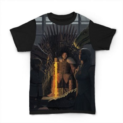 camiseta Iron Throne