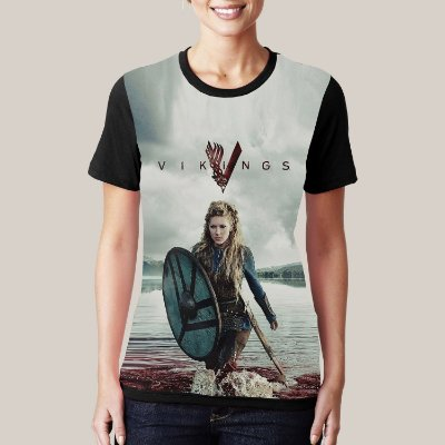 camiseta Lagertha Blood