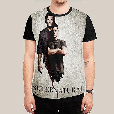 camiseta Dean e Sam Winchester