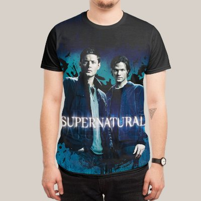 camiseta supernatural Blue