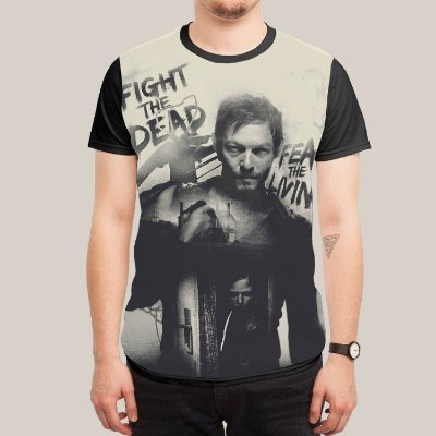 Camiseta Daryl
