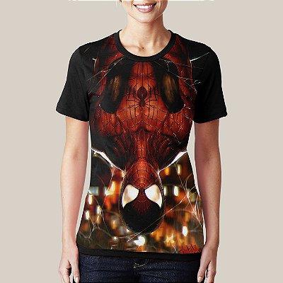 Camiseta Spider Upsidedown