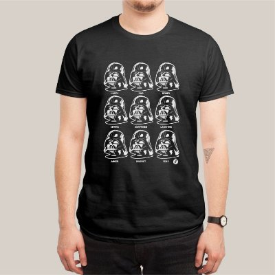 Camiseta Vader Expressions