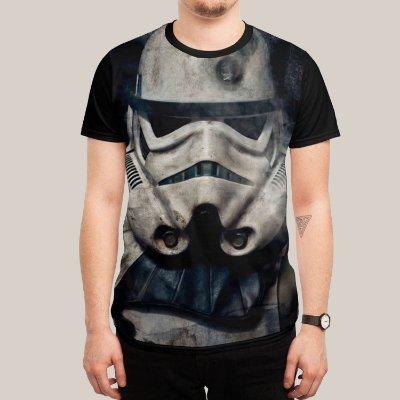 Camiseta Trooper Headshot