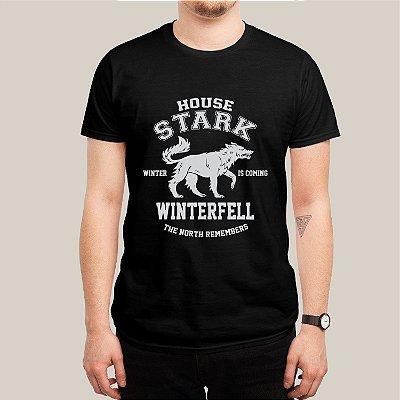 Camiseta House Stark Wolf