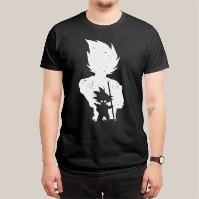 Camiseta Goku Grow Up